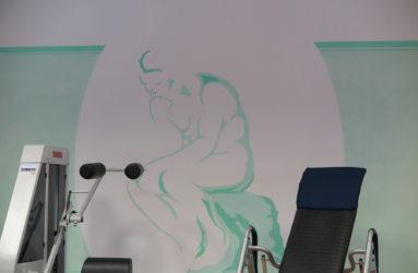 Wandgestaltung für RFZ Regensburg